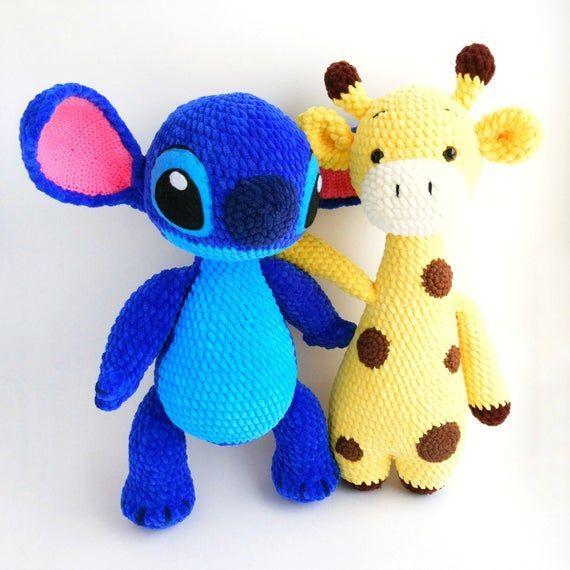 AMIGURUMI Giraffe pattern - Crochet giraffe toy PDF pattern - Knit Stuffed Toys for baby - Plush Giraffe pattern - Crochet animal pattern #giraffepattern AMIGURUMI Giraffe pattern Crochet giraffe toy PDF pattern | Etsy #crochetgiraffepattern
