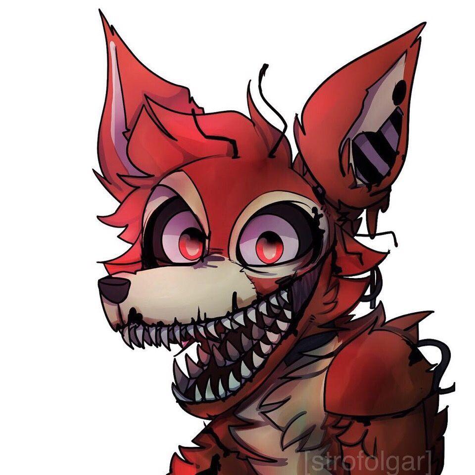 Fnaf Nightmare Foxy Fnaf Drawings Fnaf Foxy Fnaf Characters