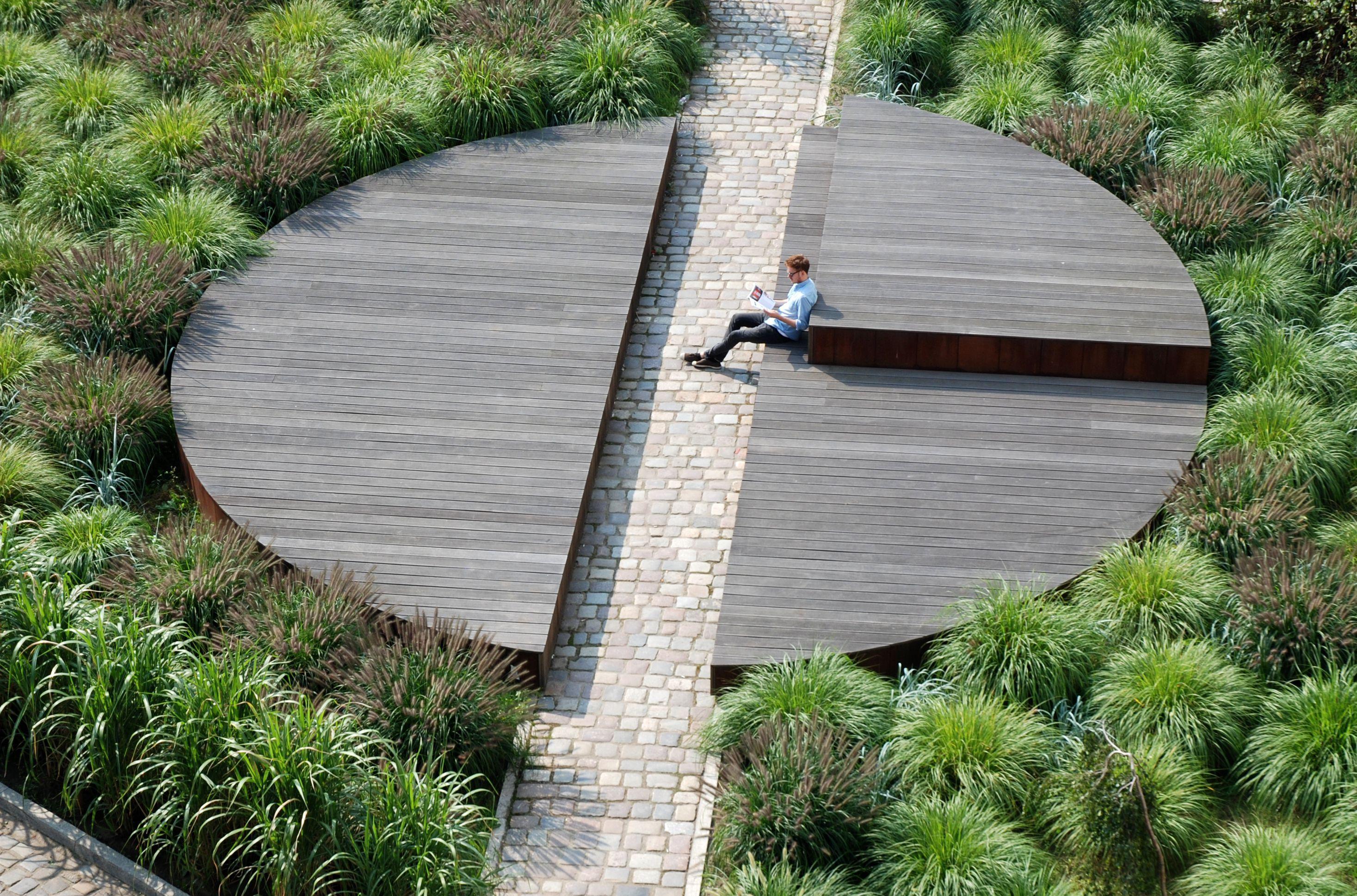 Pawel Grobelny Circle Form Nowa Sienna Chwaliszewo Poznan Landscape Architecture Design Landscape Architecture Landscape Architecture Diagram