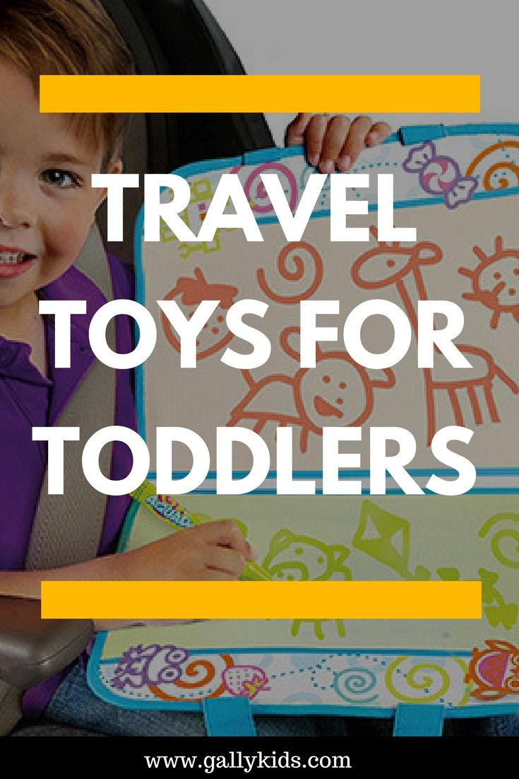 The Best Travel Toys For Toddlers For Airplane And Car Travel  Toy
