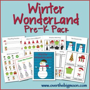 This site has pre-k packs for all kinds of seasons