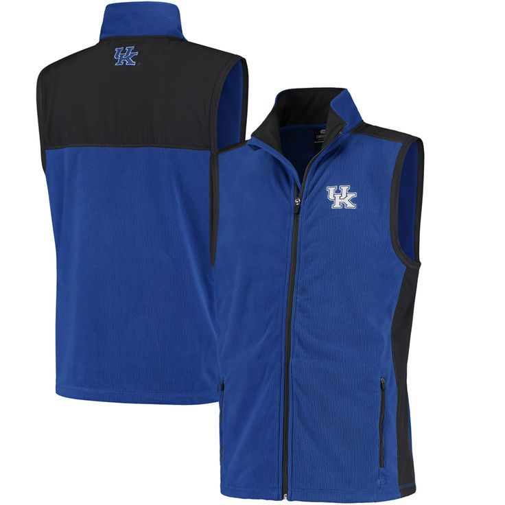 Kentucky Wildcats Colosseum Mesa Corded Fleece Vest - Royal - $37.99