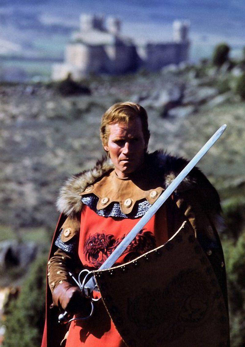 Charlton Heston As Rodrigo Diaz De Bivar El Cid In -8426