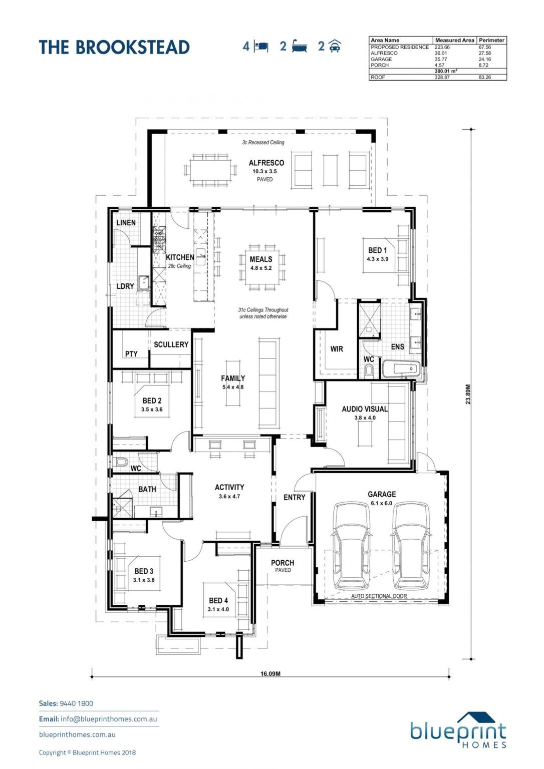 Home Designs Perth Blueprint Homes Display Homes House Plans South Africa House Design