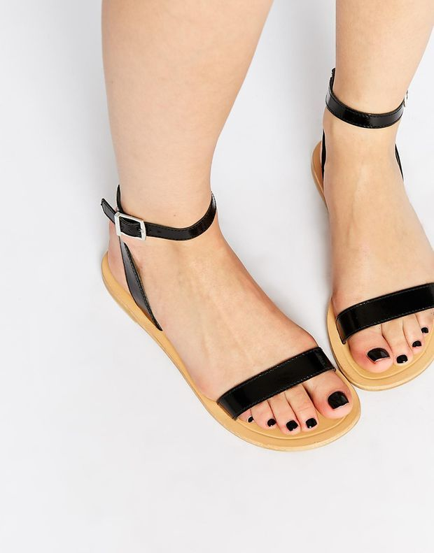 Asos Fancy Me Leather Sandals Shoes Leather Sandals Women Shoes