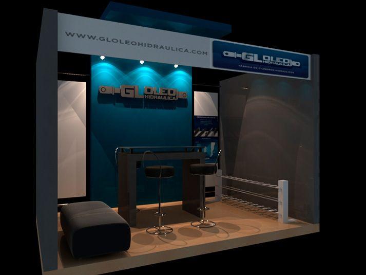 Gl oleohidr alica dise o de stand para exposici n dise o for Disenos de stand para exposiciones