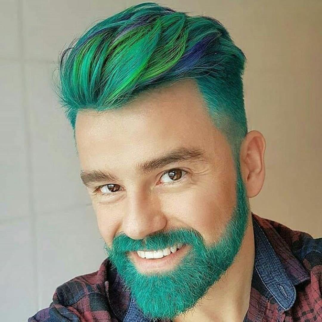 Hair and Beard color | Guys Hair Color | Men hair color, Mens hair ...