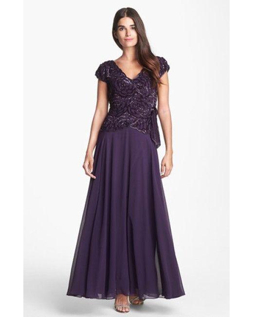 J Kara   Purple Embellished Gown   Lyst   J Kara Gowns & Suit ...