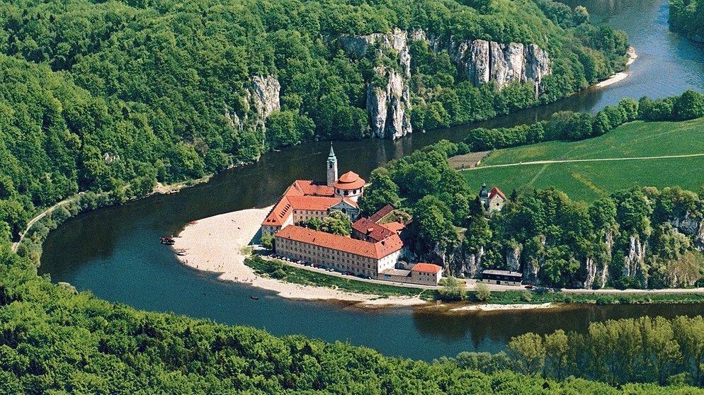Weltenburg Abbey (Kloster Weltenburg) is a Benedictine monastery in  Weltenburg near Kelheim on the Danube in Bavaria,… | Beautiful locations,  Old monk, Places to go