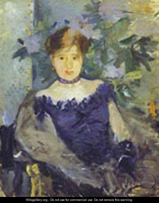 Le Corsage Noir 1876 - Berthe Morisot