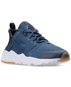 online store 3d18c 0e9cf Nike Women s Air Huarache Run Ultra Running Sneakers from Finish Line -  Blue 6.5