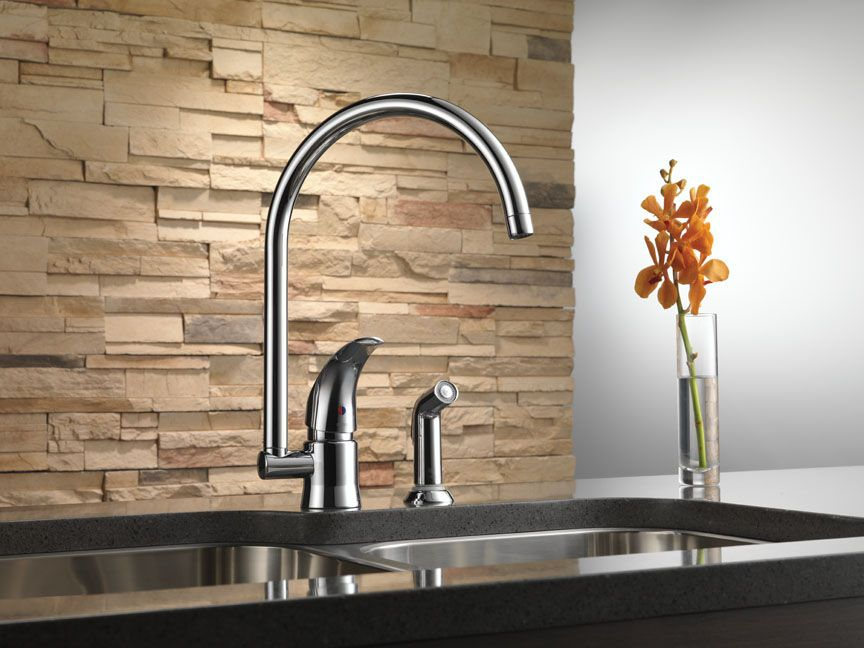 Brizo Riviera Kitchen Faucet | Brizo Denver Showroom | Pinterest ...