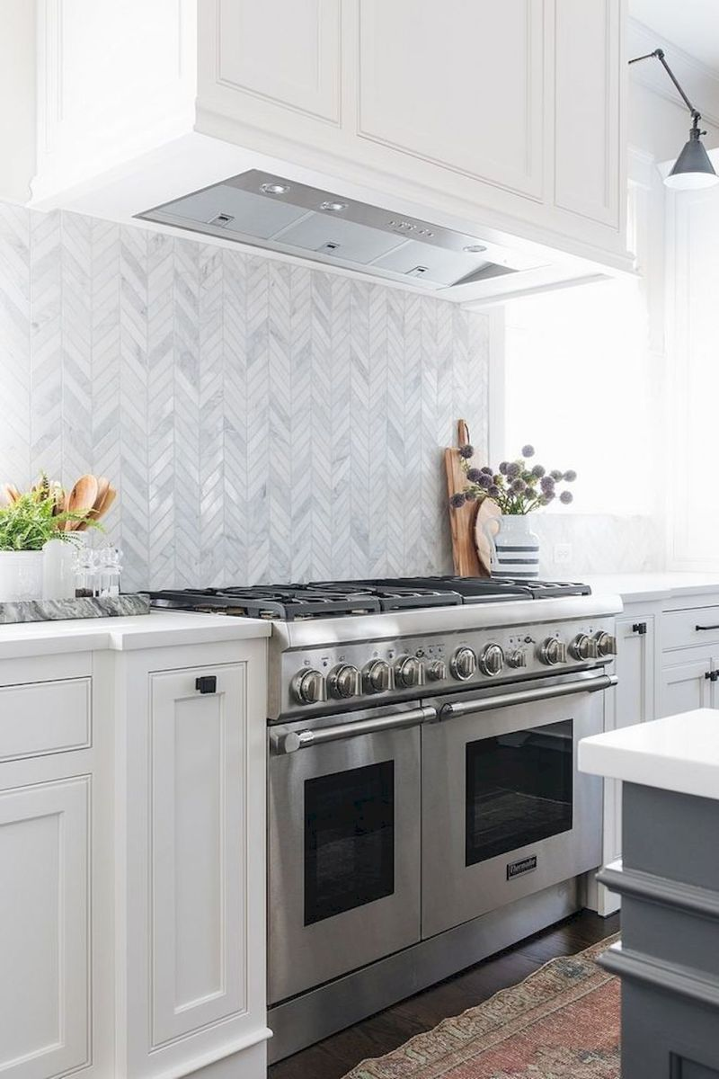 Herringbone Kitchen Backsplash For Diy Decor Part 3 Kitchen