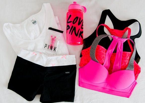 Pink sportswear