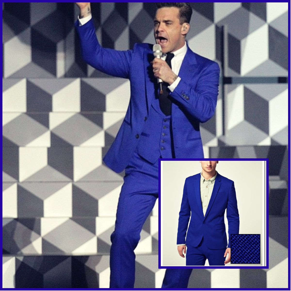 The Electric Blue Suit! | Suit | Pinterest | Electric, Electric ...