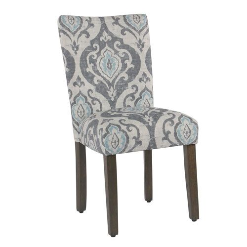 Astonishing Classic Parsons Dining Chair Suri Blue Set Of 2 Dining Uwap Interior Chair Design Uwaporg
