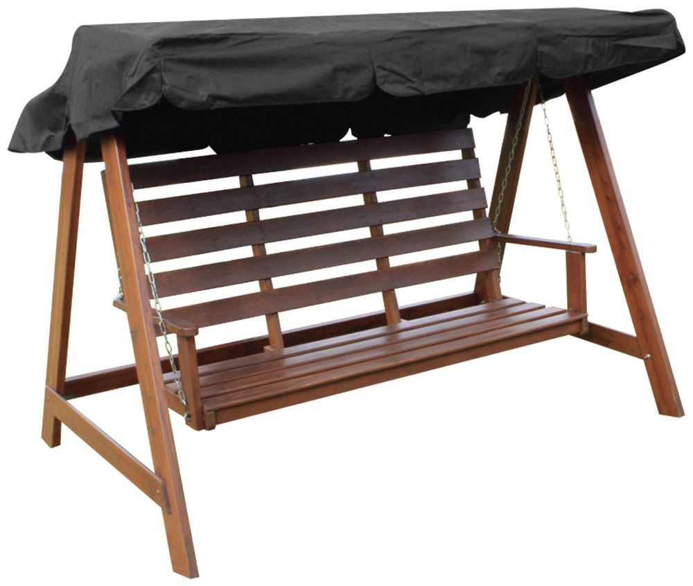 Woodside Black 2 u0026 3 Seater Garden Swing Chair Replacement Canopy Spare Cover | eBay  sc 1 st  Pinterest & Details over Woodside Black 2 u0026 3 Seater Garden Swing Chair ...