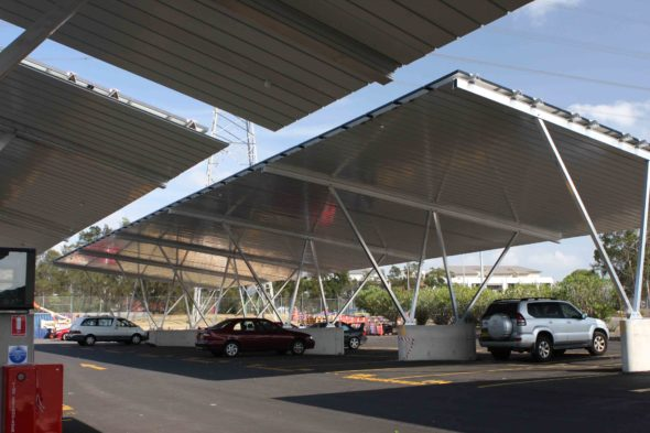 Solar Panel Carport Sydney Market Solar Car Park To Be