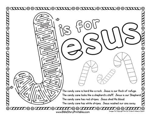 Free Christmas Bible Crafts, Games, Coloring Pages
