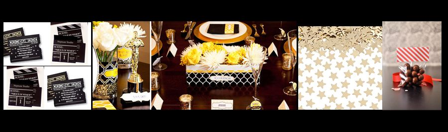 A date with oscar diy oscar party decor accessories solutioingenieria Image collections