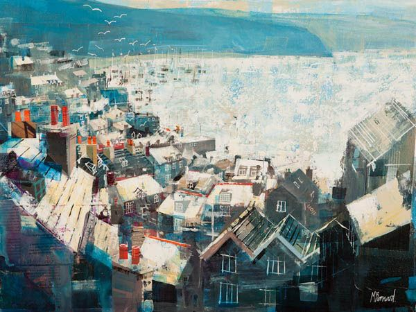 Mike Bernard. SALCOMBE ROOFTOPS