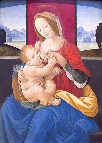 Virgen con el nio madonna con el nio lorenzo di credi museos virgen con el nio madonna con el nio lorenzo di credi museos del vaticano roma lazio italia europa publicscrutiny Gallery