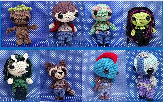 Amigurumi Groot 47 Modelos Muito I'm Groot | Bichinhos de croche ... | 359x570