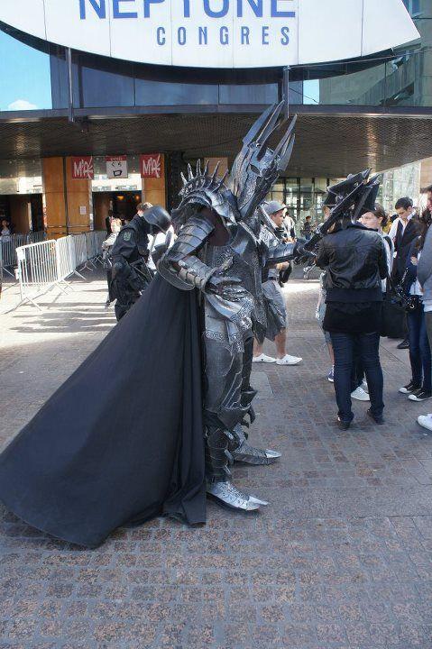 arnaud lamezas: Sauron from Seigneur des anneaux in Otaku House Cosplay Idol 2012