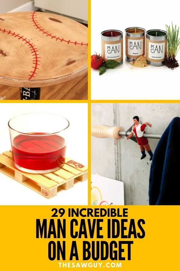 29 Incredible Man Cave Ideas on a Budget - DIY Projects -   22 diy projects for men man caves ideas
