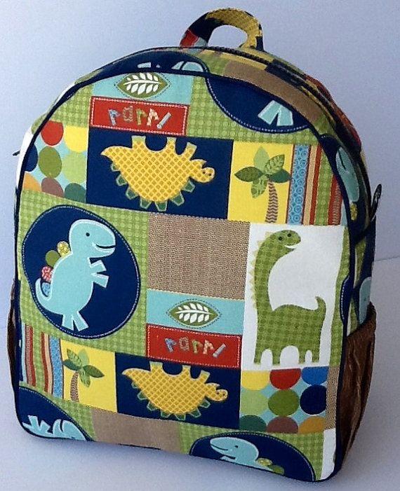 Toddler Backpack Preschool Backpack Boys Backpack Quilted