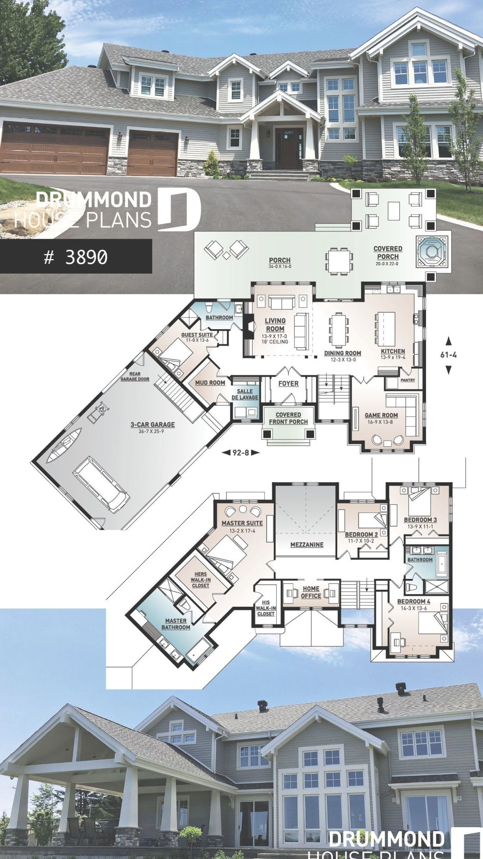 Luxury Cape Cod Style Home 4 To 5 Bedrooms Large Master Suite Open Layout Large Covered Deck Lakefront Pl Haus Grundriss Haus Architektur Architektur Haus