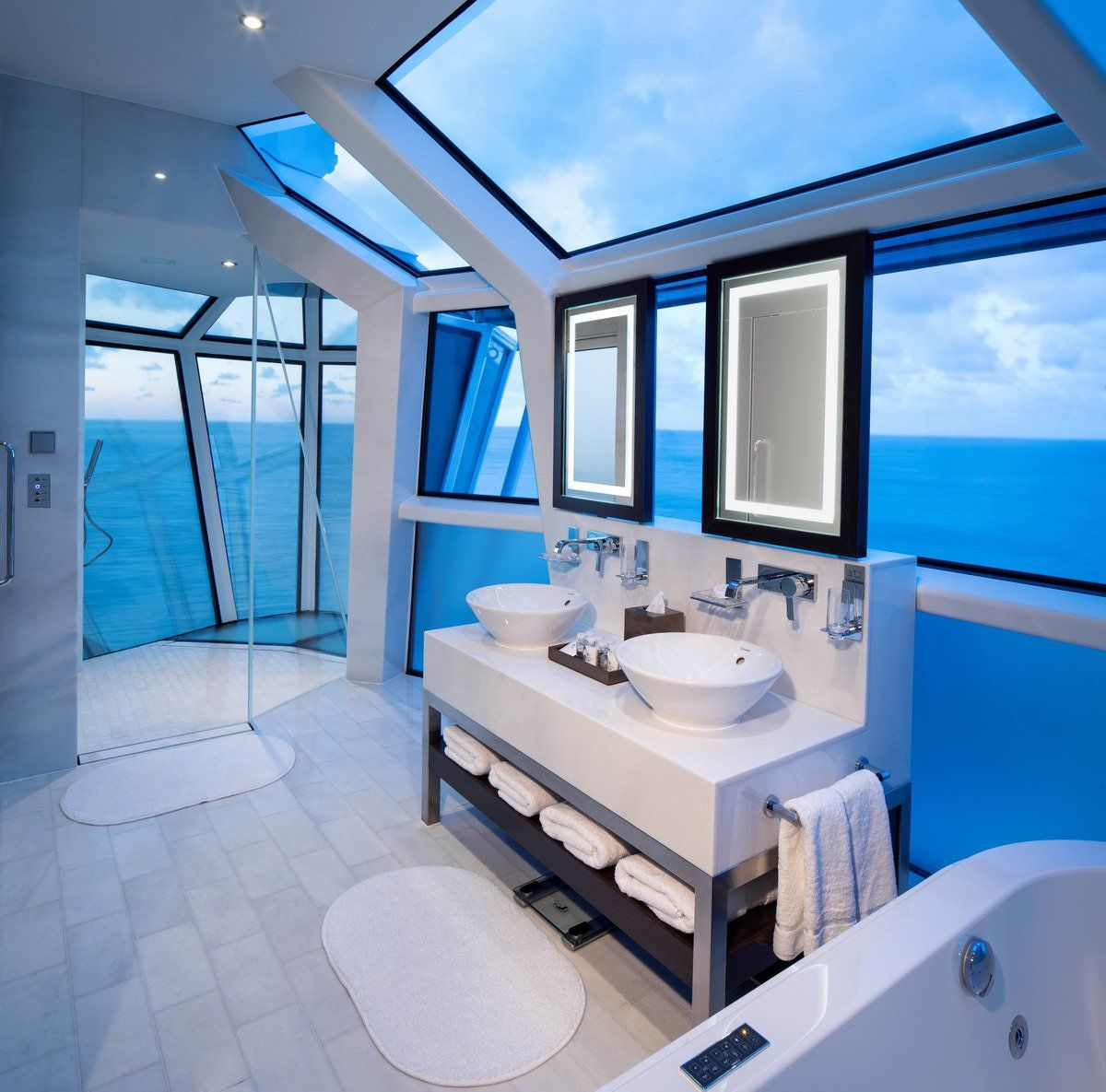 Luxury #Cruise #Bathroom Over the #Ocean #Sea #Boat | aspirational ...