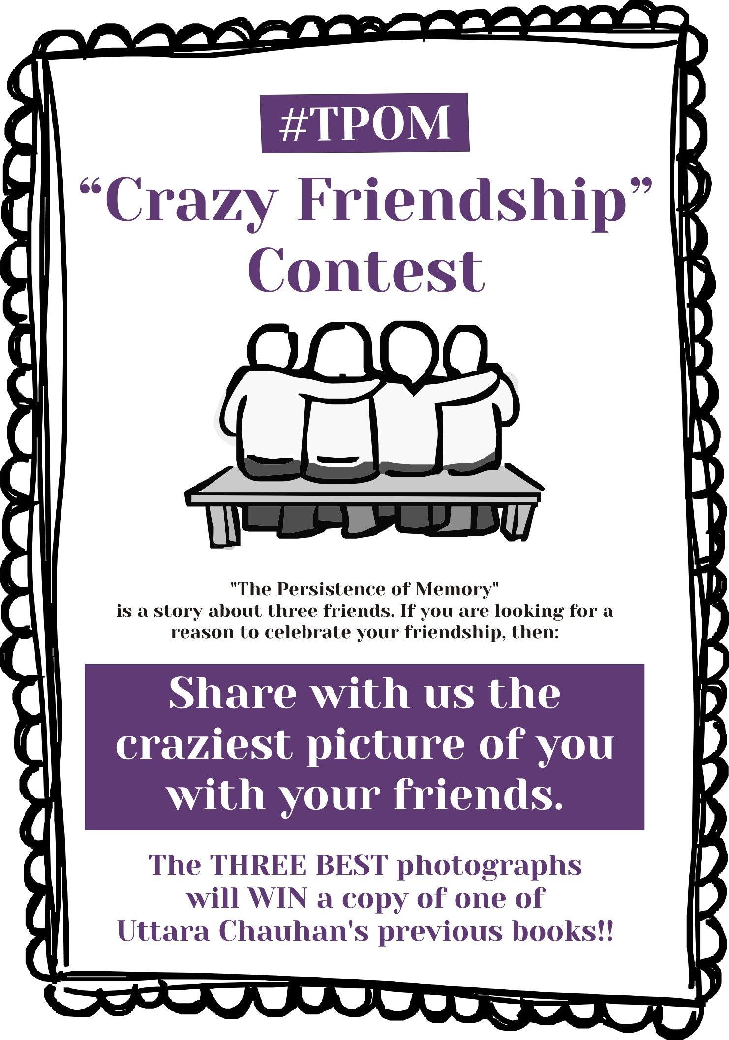 #CrazyFriendship Contest Announcement