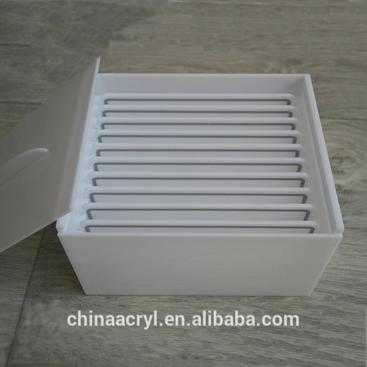 3bdce4d75d6 Source Beauty Supplies Eyelashes Organizer Storage White Acrylic Lashes Box  on m.alibaba.com