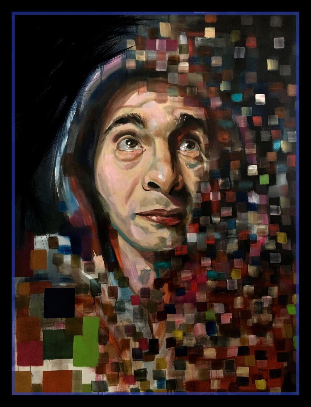 Hugo's portrait by Trainini Alejandro