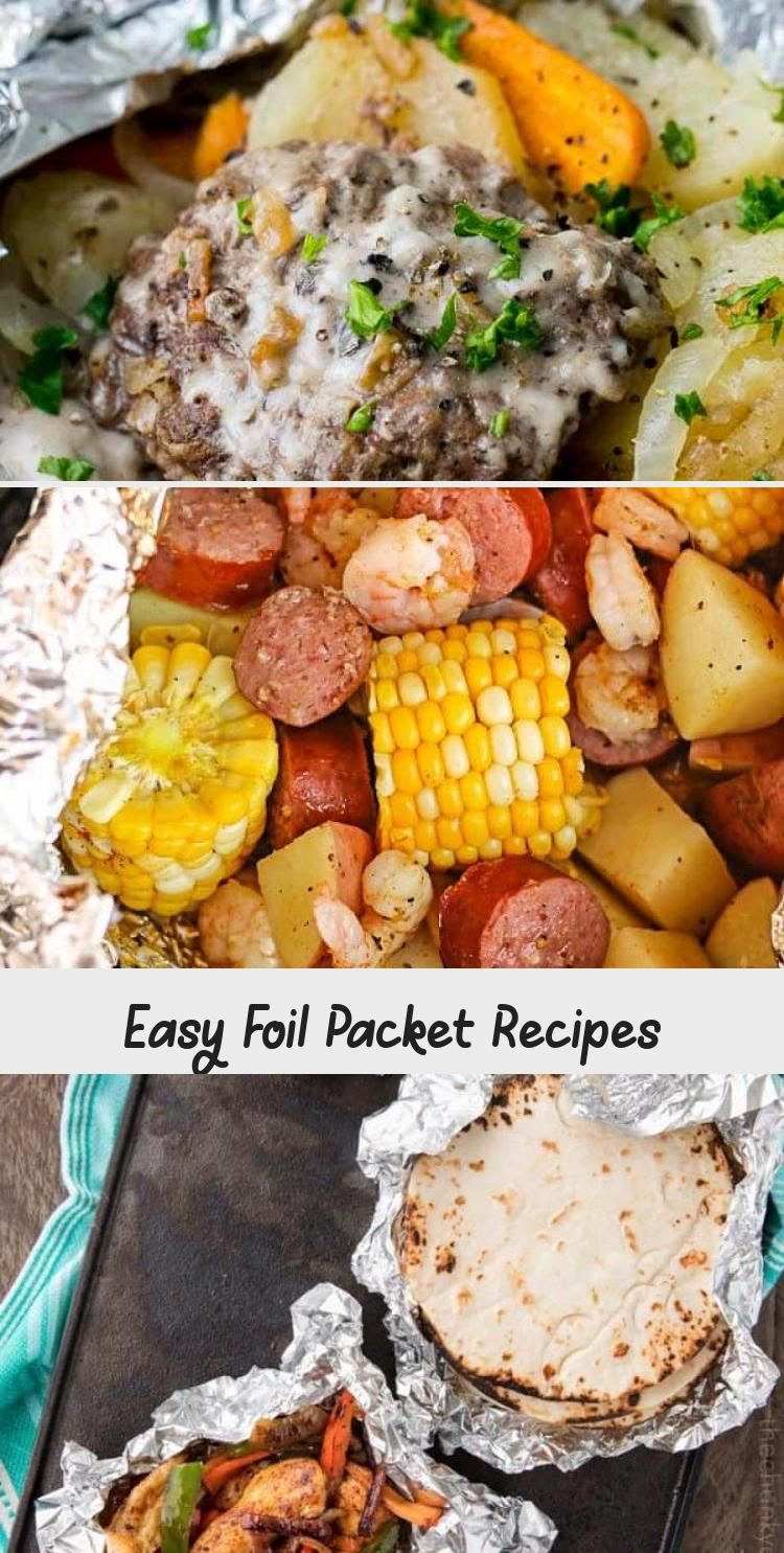 Photo of Easy Foil Packet Recipes – Recipes For Dinner