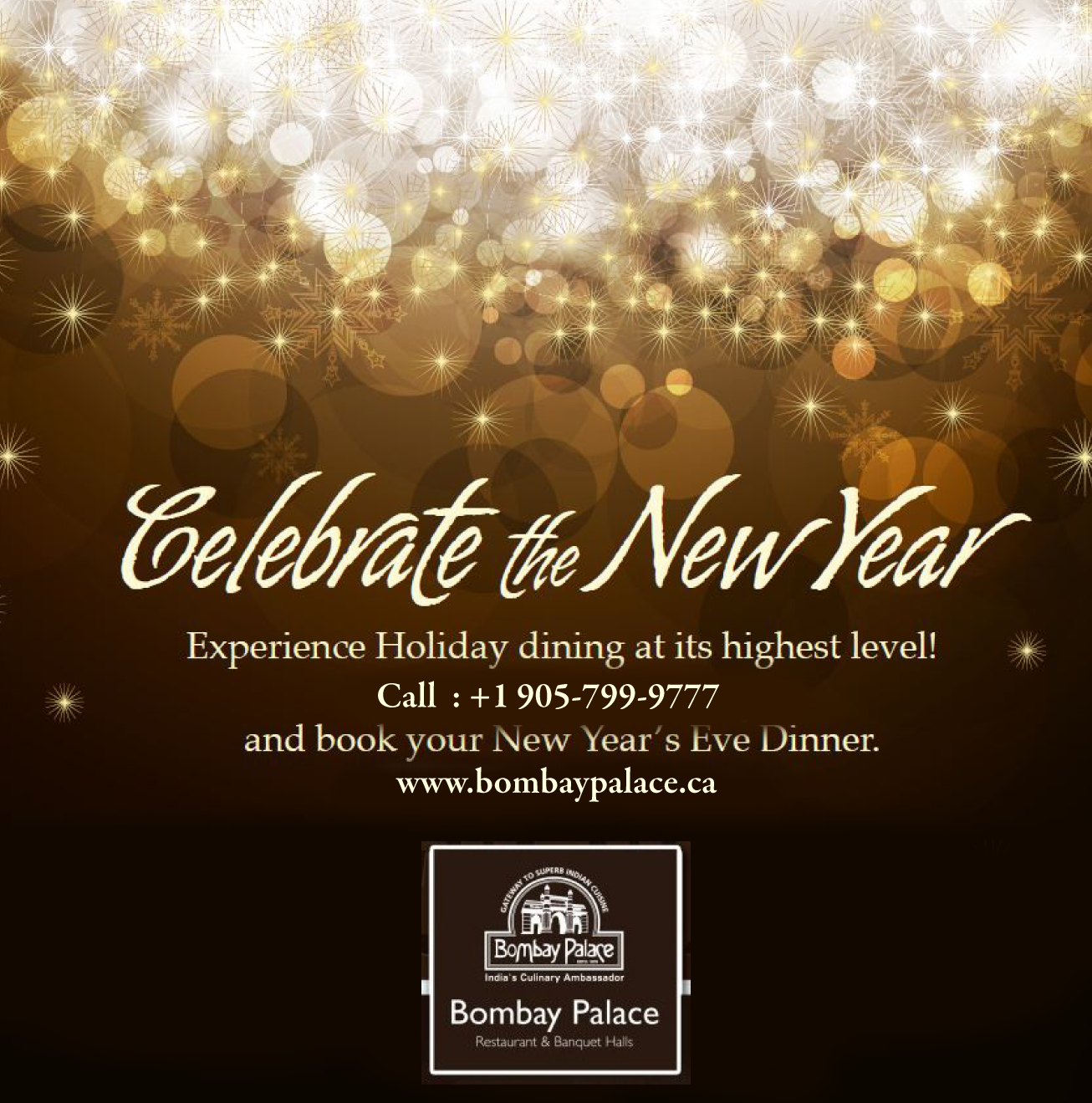 Pin By Bombay Palace Brampton On Bombay Palace New Years Eve Dinner Dinner Party Invitations Holiday Dining