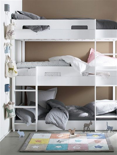 lits superpos s triododo s parables blanc vertbaudet enfant couture pinterest lit. Black Bedroom Furniture Sets. Home Design Ideas