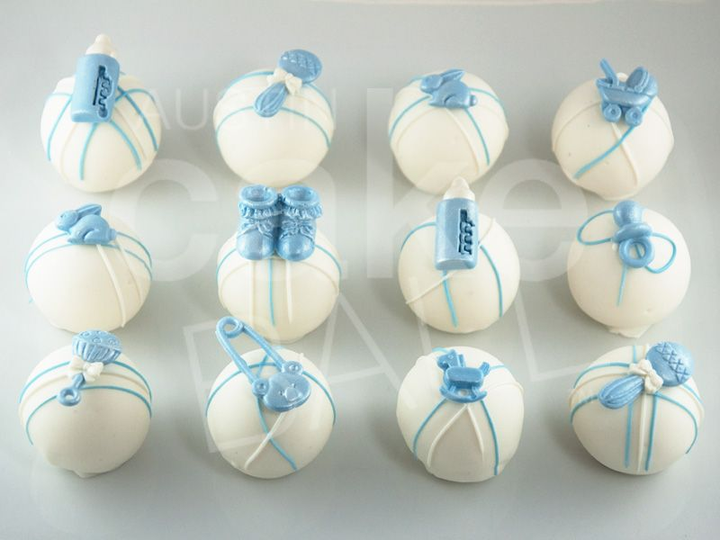 Custom Cake Balls For Birthdays And Gifts Baby Shower Cake Pops