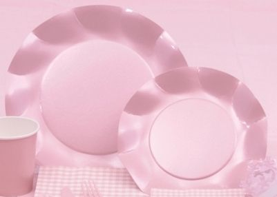 Fluted Paper Dessert Plates Pearl Pink - Package of 10 - $6.50 SALE $5.50  sc 1 st  Pinterest & Fluted Paper Dessert Plates Pearl Pink - Package of 10 - $6.50 SALE ...