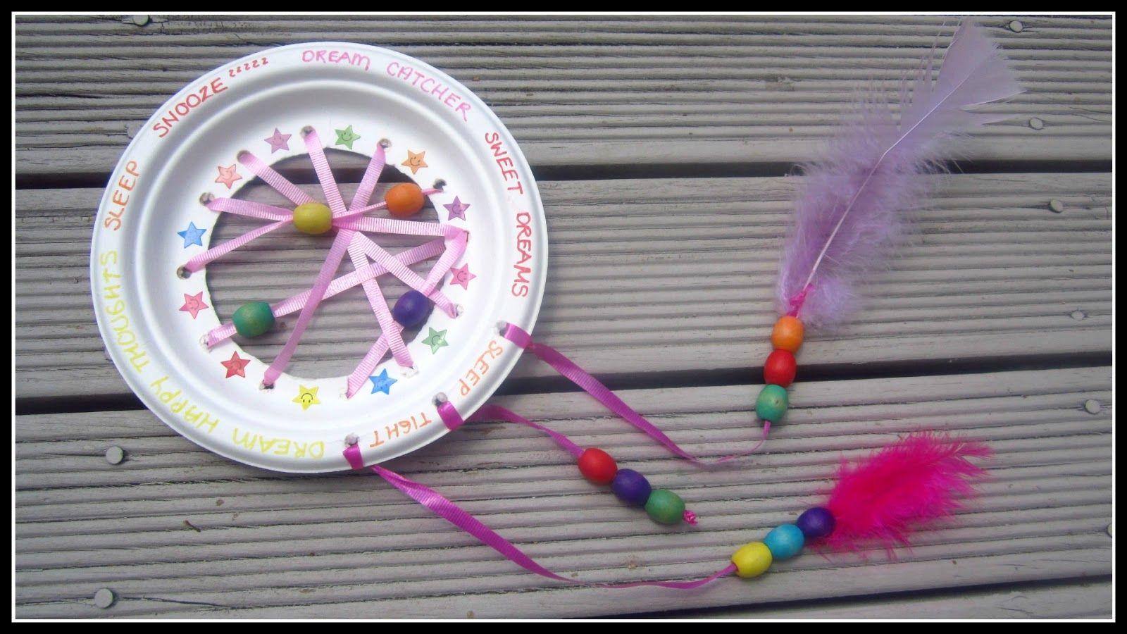 StyleNovice: {Kids} DIY Dream Catcher