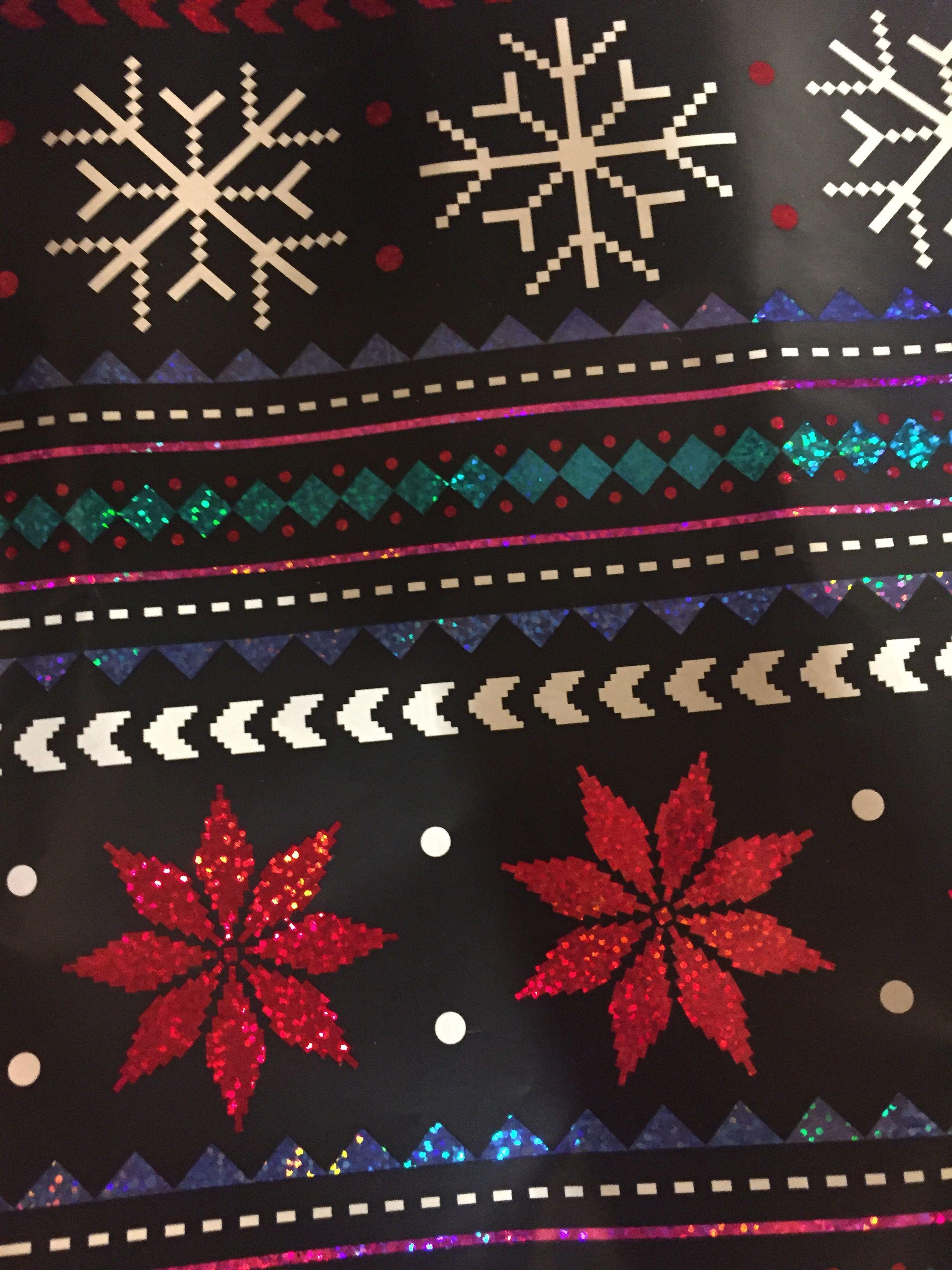 Christmas Glitter Wallpaper
