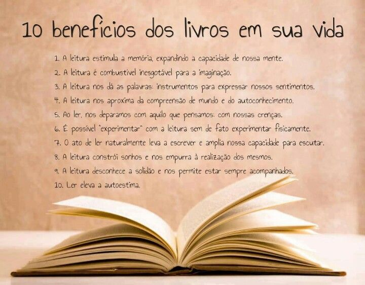 10 Beneficios Dos Livros Em Sua Vida Frases Sobre Livros Livros