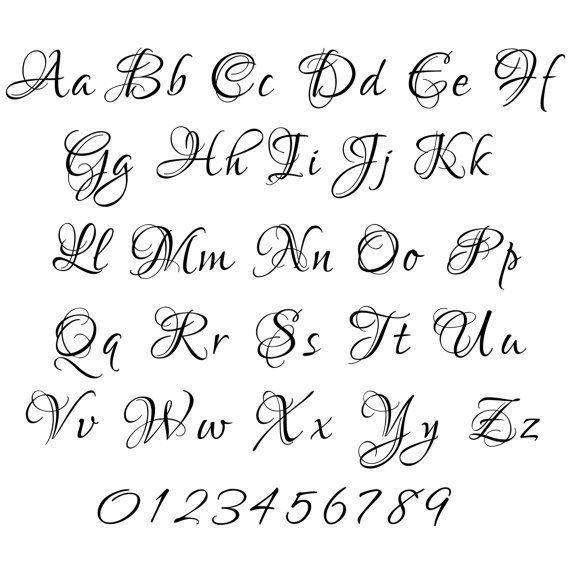 Download 6 cursive fonts pack machine embroidery font design ...