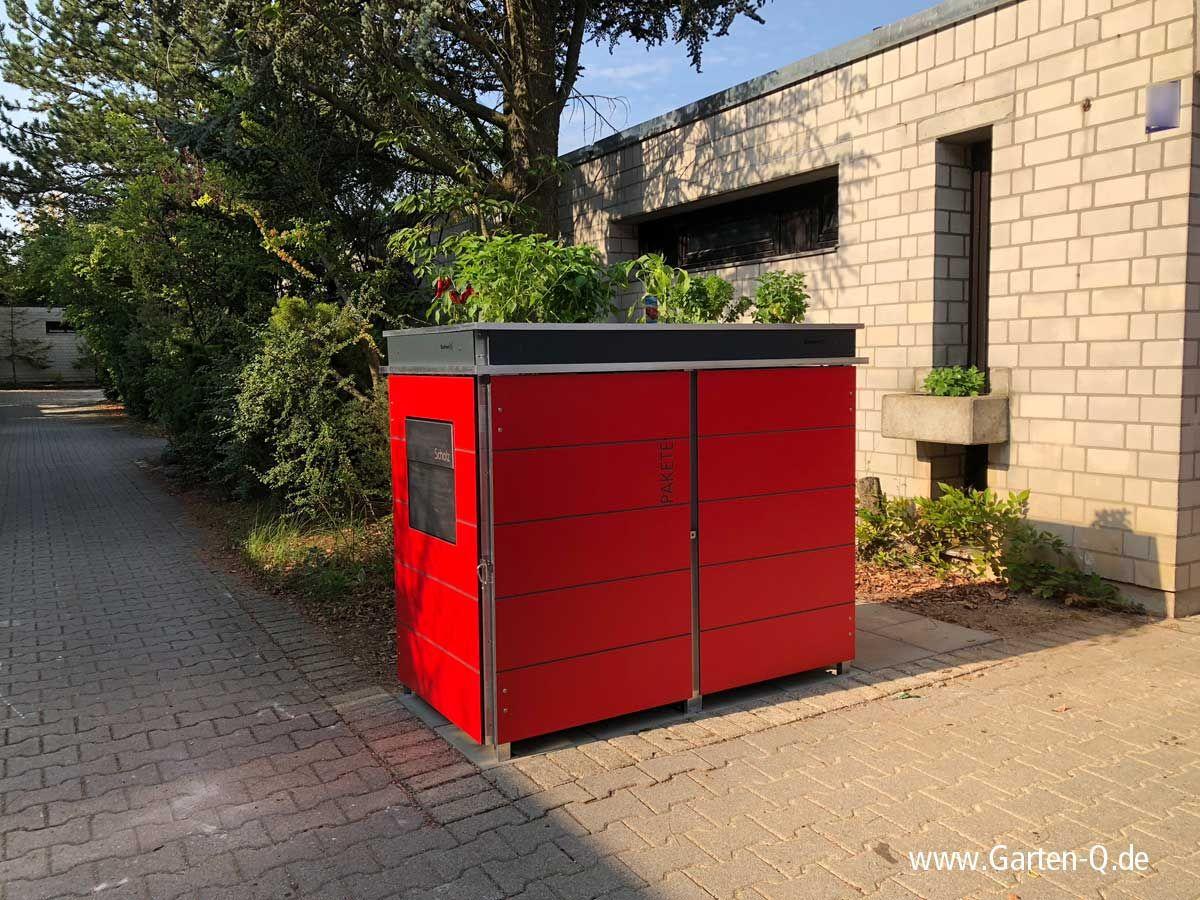 Mülltonnenboxen mit Pfiff! #gartenrecycling