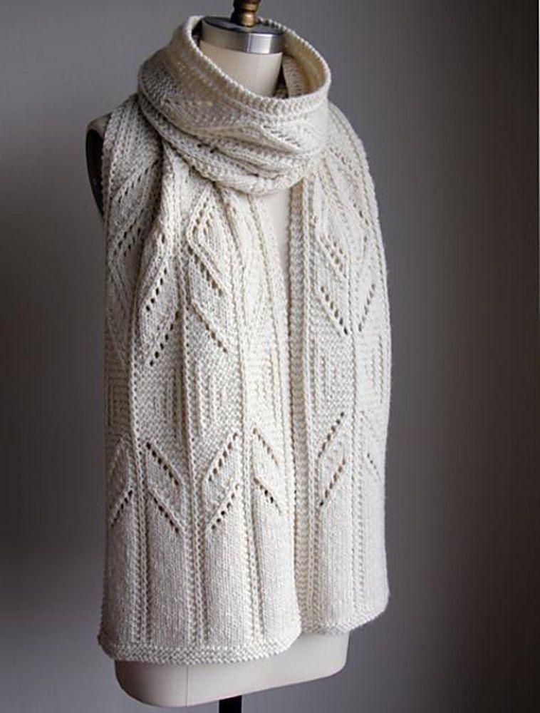 Winter Wish Scarf (Aran) | Bufandas, cuellos y chales | Pinterest ...