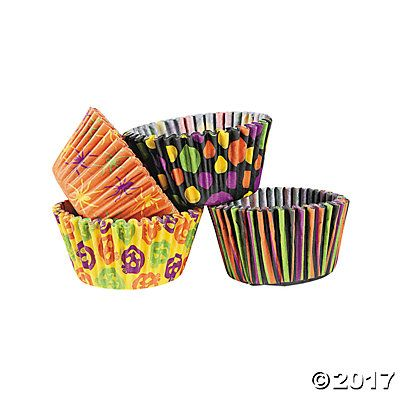 Iconic Halloween Cupcake Liners HALLOWEEN PARTY Pinterest - halloween cupcake decor