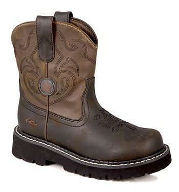 c982c5d0b45 Kids Roper Chunk Cowboy Boot - Rocky Top Leather | Kids Cowboy Boots ...
