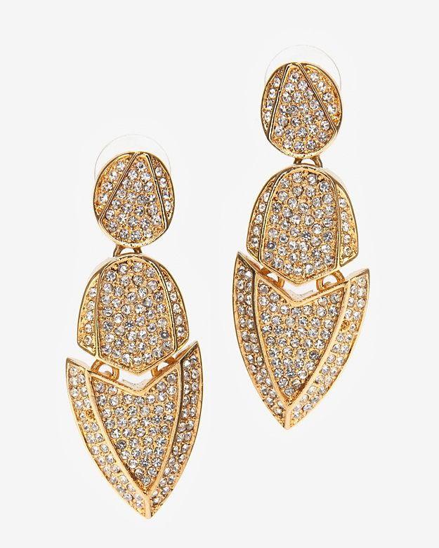 Kara Ross Jewelry | PREORDER Crystal Artemis Earrings-Earrings-Jewelry-Accessories ...