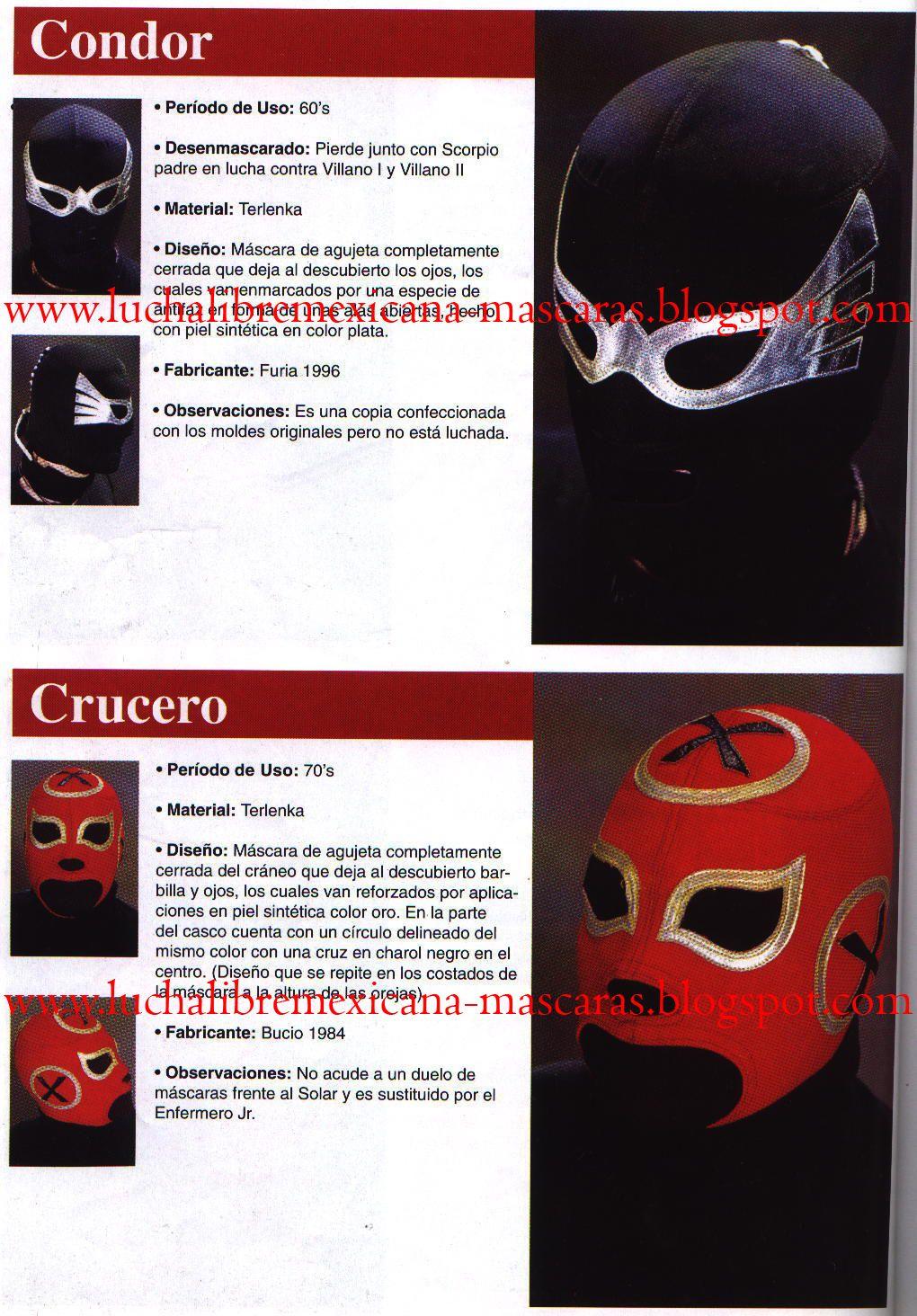 Mascara del Condor y de Crucero